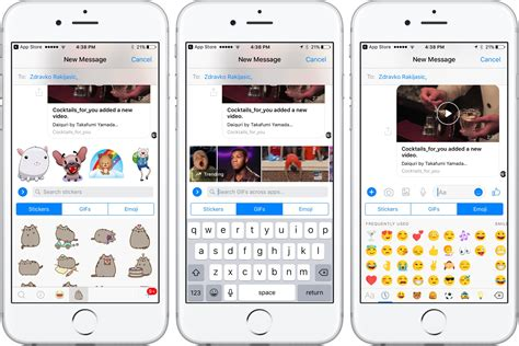 messenger testing ios 10 messages like chat
