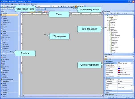 tutorial website maken de basis functionaliteiten van web builder