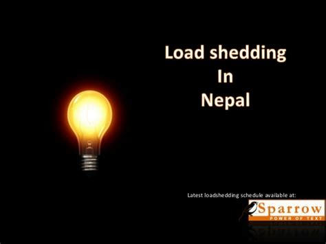 Load Scheduling And Load Shedding by Loadshedding In Nepal Increased