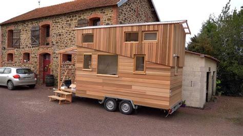 tiny france la tiny house de bruno thi 233 ry en normandie france