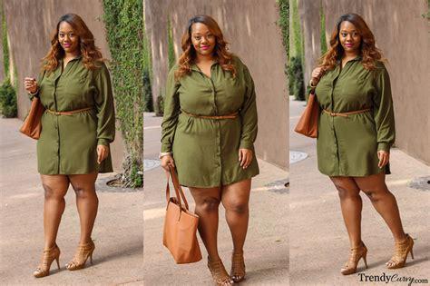 4 ways to wear a shirt dress trendy curvytrendy curvy