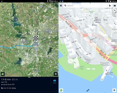 here maps android this is how nokia s here maps for android looks like