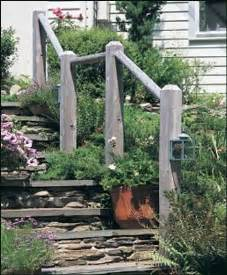 railings rustic and the rustic on