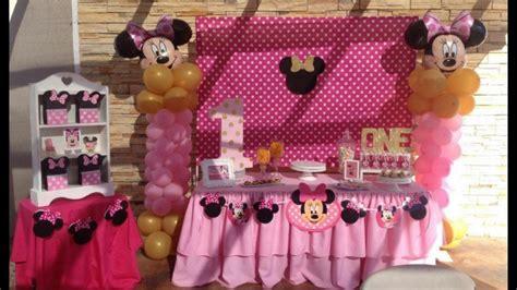 decoracion minnie mouse decoraci 243 n minnie mouse rosa