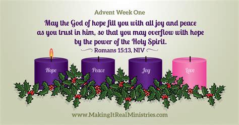 advent themes hope love joy peace a hopeful start to the advent season laura naiser