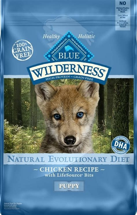 blue buffalo wilderness puppy blue buffalo wilderness 24lb chicken puppy food 596162 by rfg distributing for 51 99