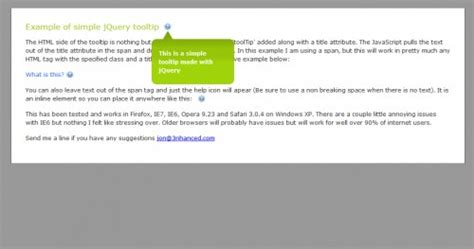 tutorial jquery tooltip 20 helpful jquery tooltip plugins and tutorials creativefan