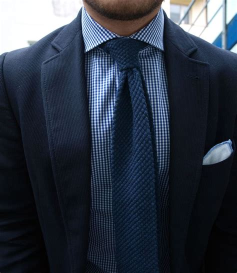blue knit tie blue knit tie new look