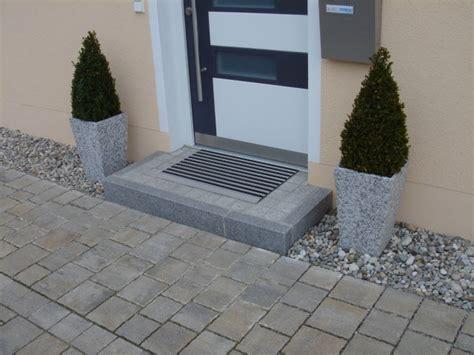 Pflastern Mit Naturstein 2962 by Berggold Pflaster Naturstein Gmbh Eingangsbereich Podeste