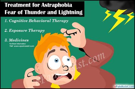 afraid of thunder treatment of astraphobia or fear of thunder and lightning its complications diagnosis