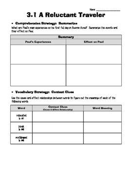 Wonders Grade 5 Unit 3- Reading/Writing Workshop
