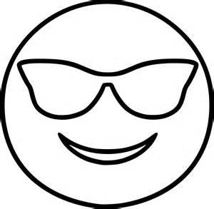 coloriage emoji cool 224 imprimer