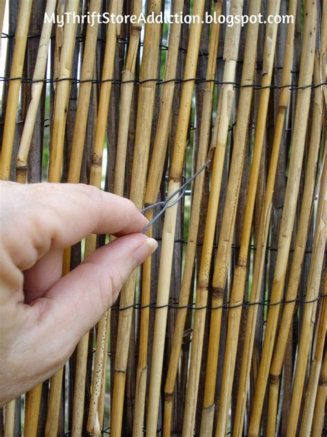 diy reed fence upgrade   reed fencing bamboo