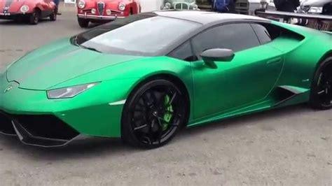 Lamborghini Green by Chrome Green Lamborghini Huracan