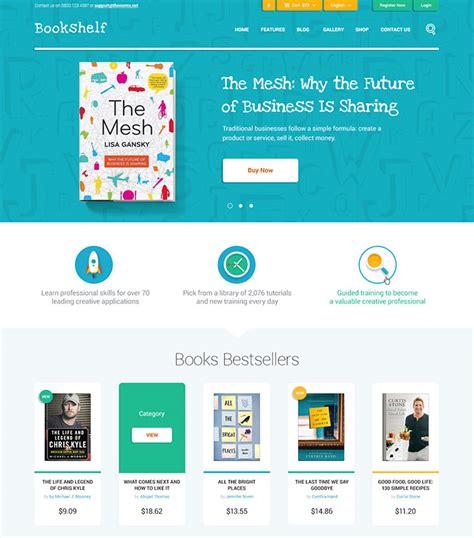 website layout design books 40 fantastic online book store web designs web graphic