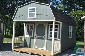 gambrel shed with loft porch pictures to pin on