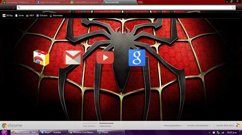 Theme Google Chrome Spiderman | spiderman google chrome theme by llodsliatlns on deviantart