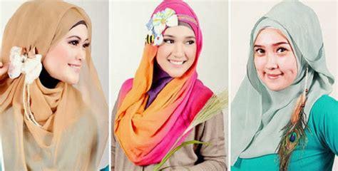 tutorial berhijab untuk wajah panjang cara memakai jilbab dengan muka panjang jilbab 7 tips