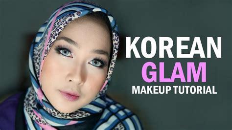 korean makeup tutorial indonesia korean glam makeup tutorial indonesia dian ayu youtube