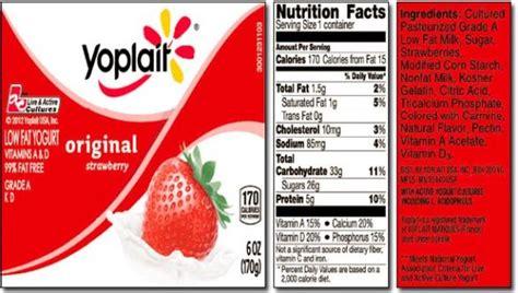 yoplait light yogurt ingredients gallery yoplait plain yogurt