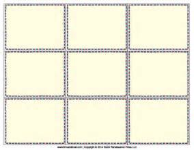printable blank flash card template