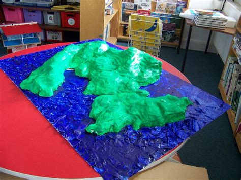 How To Make A Paper Mache Island - scotland island blogging fetlar school