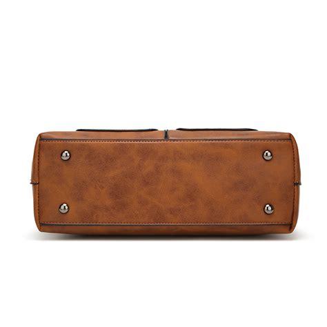 Senter Jinjing tas selempang jinjing wanita europan american fashion bag brown jakartanotebook