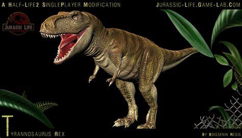 jurassic park game mod for half life 2 download t rex image jurassic life mod for half life 2 mod db