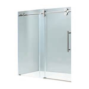 sliding frameless shower doors x