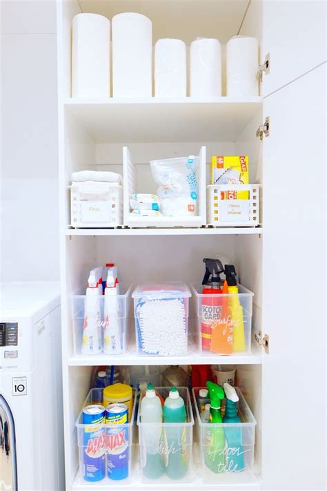 cleaning closet ideas 1000 ideas about cleaning closet on pinterest utility closet closet and closet hacks