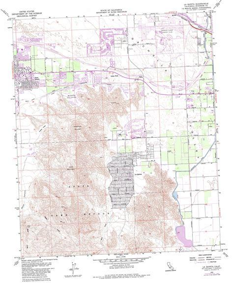 southern california map la quinta la quinta topographic map ca usgs topo 33116f3