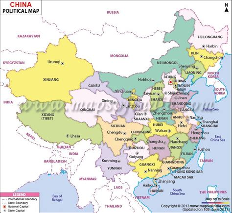 china political map political map of china india s neighboring countries