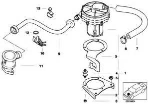 original parts for e36 316i 1 9 m43 compact engine emission air estore central