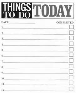 diy to do list template 10 printable to do list templates excel templates