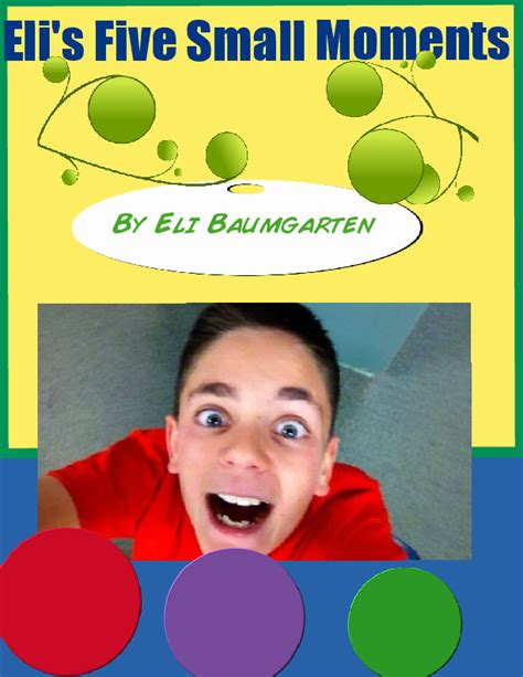 eli s 5 small moments book 280086 bookemon