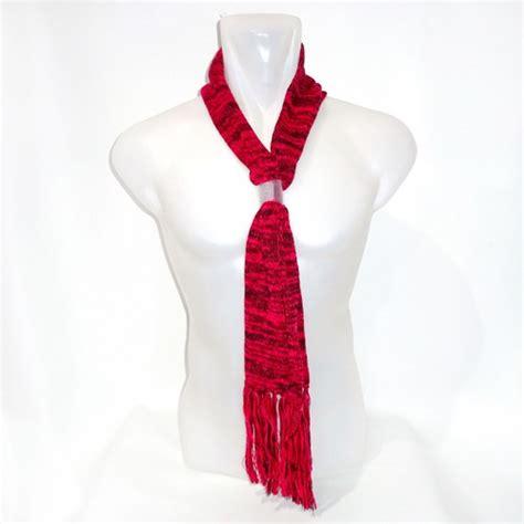 Baju Rajut Wool grosir syal scarf wool rajut warna merah toko grosir termurah