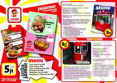 desain kemasan makanan menarik 13 contoh desain brosur makanan menarik simple elegan