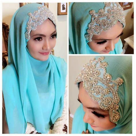 simple hijab tutorial for wedding beautiful wedding hijab styles with videos hijabiworld