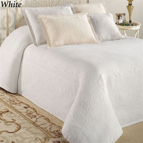 Bed Coverlet King Charles Matelasse Bedspread Bedding