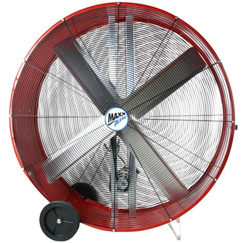 high velocity shop fan shop maxxair 48 in 2 speed high velocity fan at lowes com
