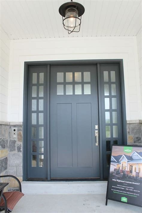 exterior door paint color midnight blue by benjamin