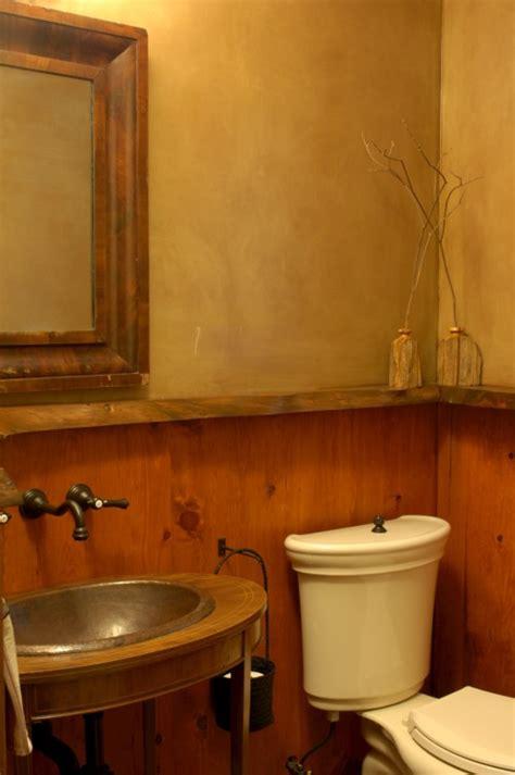 rustic half bath 171 gary arthurs crafted interiors
