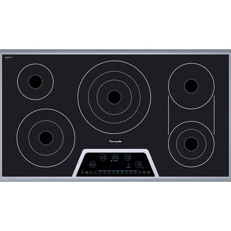 Electric Cooktops On Sale thermador cet366fs 36 quot masterpiece electric cooktop black