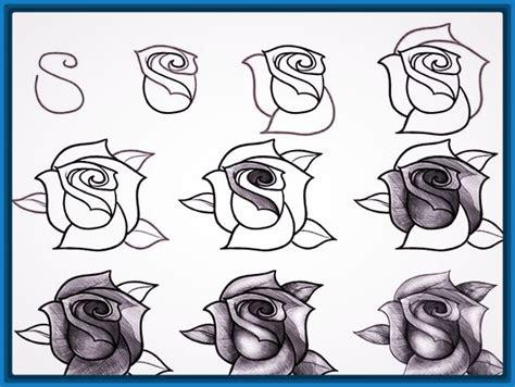imagenes para dibujar a lapiz de rosas maravillosas imagenes para dibujar faciles a lapiz paso a paso