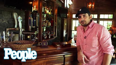 brat house brad paisley s awesome at home bar people youtube
