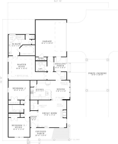 middlebury floor plans middlebury southern home plan 055d 0659 house plans and more