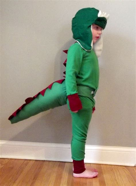 Handmade Dinosaur Costume - dino dress up how to sew a t rex hat tutorial sewing