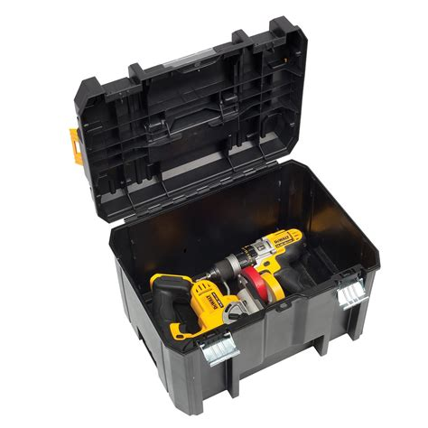 Portable Work Benches Dewalt Dwst1 71195 Tstak Vi Deep Tool Storage Box