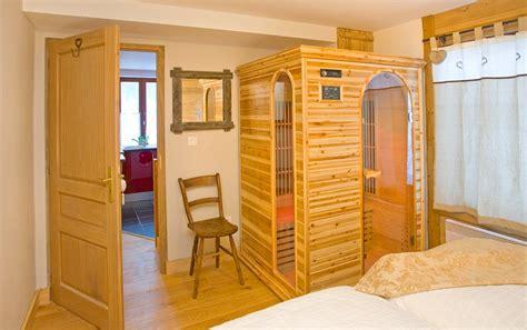 sauna in bedroom apartment eco jardin chamonix france the snowco com