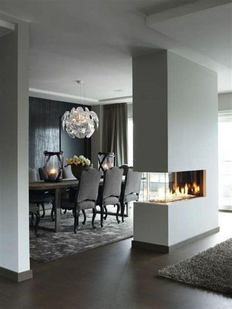 Fireplace Between Dining Room And Living Room Ideas Para Separar La Sala Comedor Colores En Casa